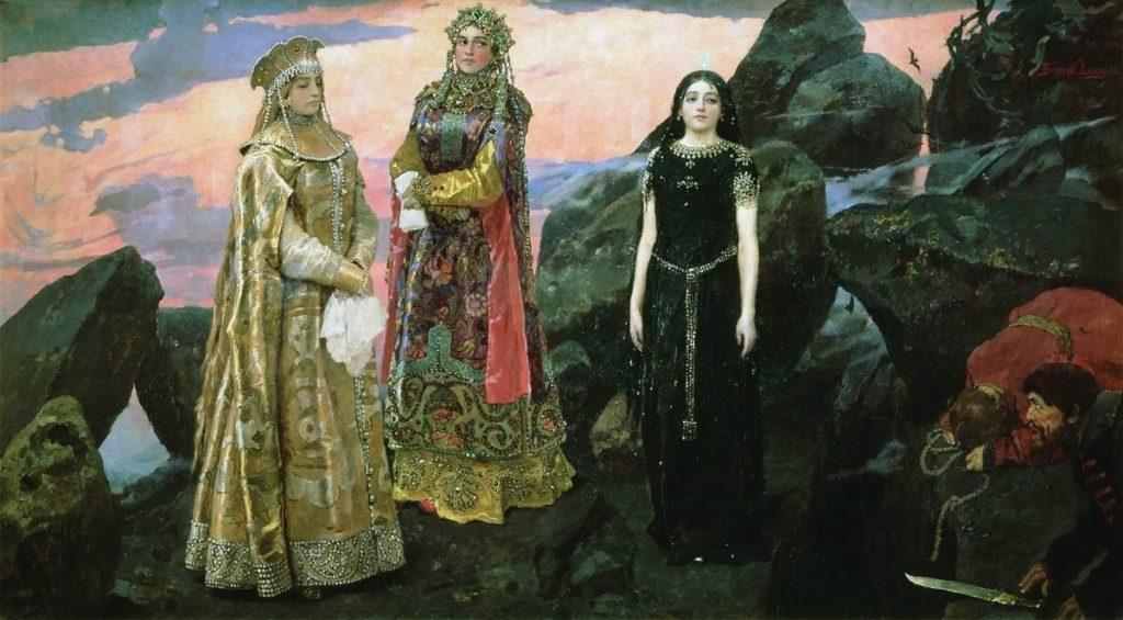 три царицы